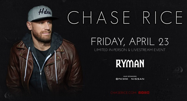 Chase Rice Livestream At Work Perk Sweepstakes