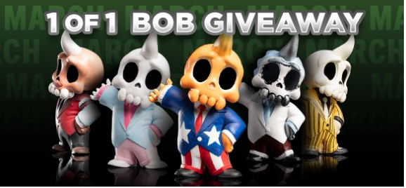 Cryptozoic Entertainment 1 Of 1 Bob Giveaway