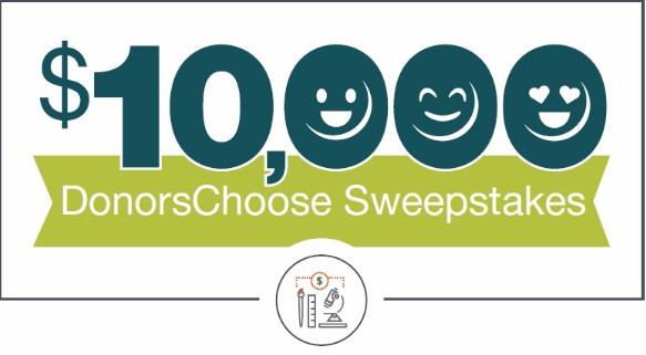 Horace Mann $10,000 DonorsChoose Sweepstakes