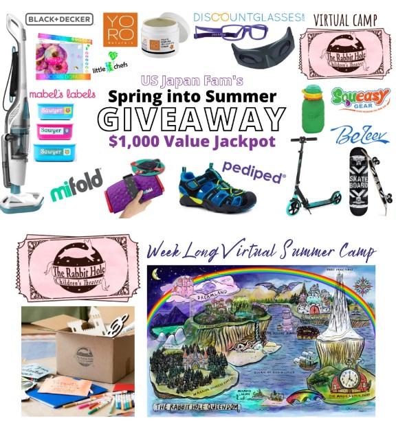 Raising 3 Savvy Ladies Spring Into Summer Giveaway