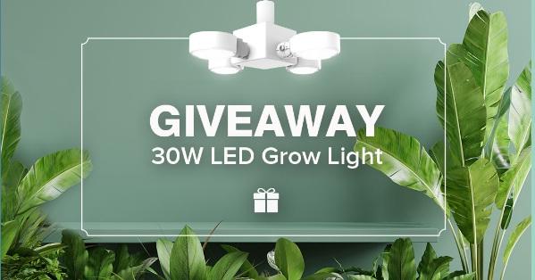 SANSI New LED Grow Light Giveaway