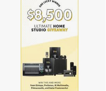 Sweetwater $8,500 Ultimate Home Studio Giveaway