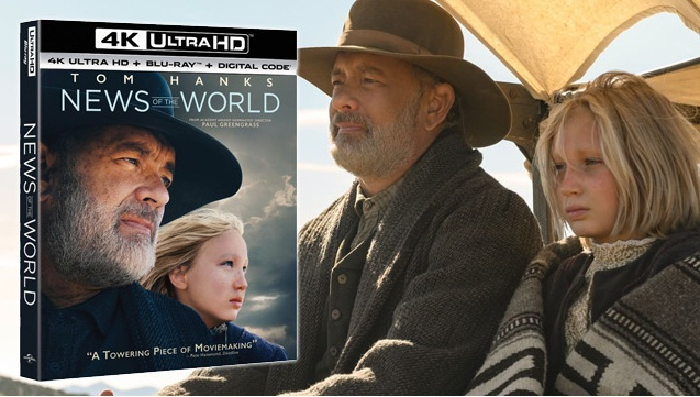 TheHDRoom News Of The World Starring Tom Hanks On Blu-ray Giveaway