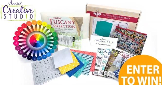 Annies Publishing Nancy Beginner Quilt Giveaway