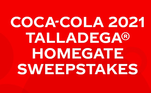 Coca-Cola 2021 Talladega Homegate Sweepstakes