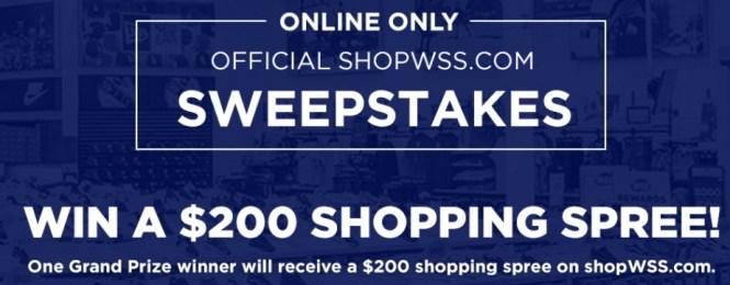 Eurostar WSS $200 Shopping Spree Sweepstakes