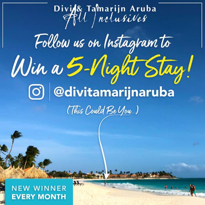 Aruba Instagram Monthly Giveaway