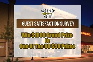 Customer Satisfaction Survey Sweepstakes – Win $1000 Cash Prize