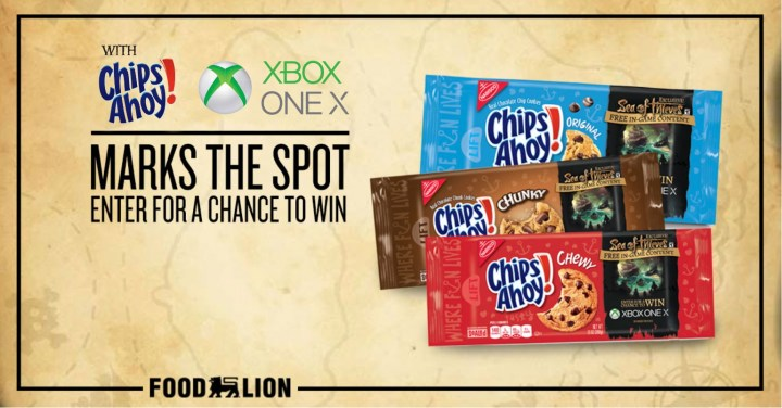 Chips Ahoy XBox Giveaway