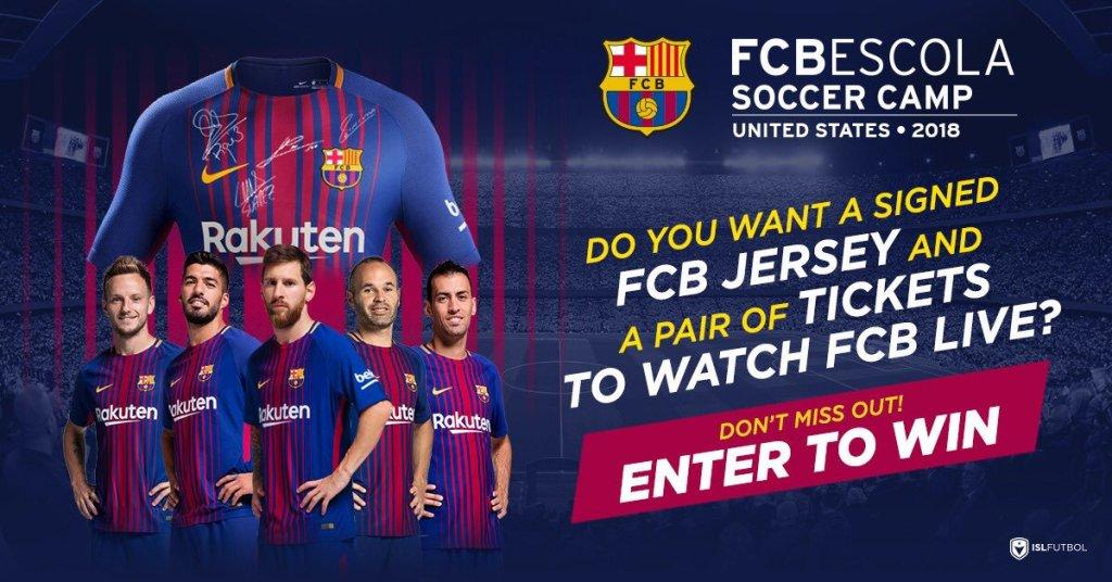 FC Barcelona Sweepstakes