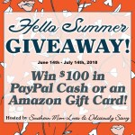 Hello Summer $100 Paypal or Amazon – Win Gift Card