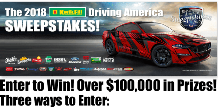 Driving America Sweepstakes