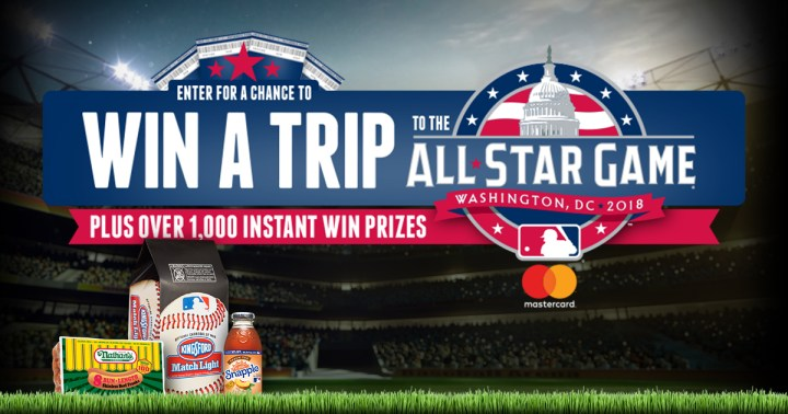 Trip to the MLB Sweepstakes