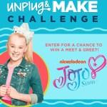 Michaels Unplug and MAKE Sweepstakes – Win Chance To Meet JoJo