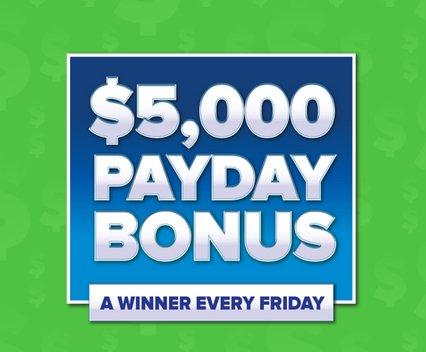 Payday Mega Bonus Sweepstakes