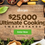 Win $25000 check – Ultimate Cooking Sweepstakes