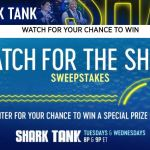 CNBC Shark Tank Sweepstakes – Win A $50,000 Check and A Trip to Miami, Florida