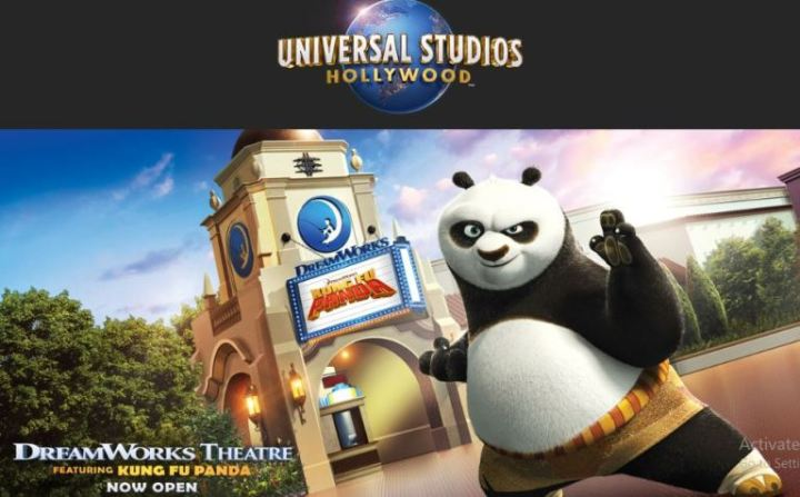 Extra Dreamworks Theatre Featuring Kung Fu Panda Sweepstakes