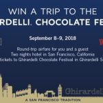 Ghirardelli Chocolate + Cost Plus World Market Sweepstakes –  Win a Trip
