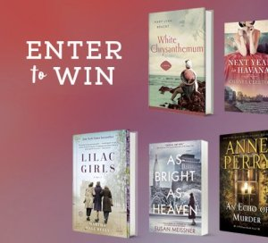 Historical Fiction Sweepstakes – Win $100 Book Bundle