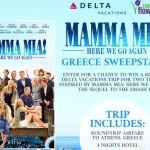 Mamma Mia Here We Go Again Sweepstakes – Win A Trip