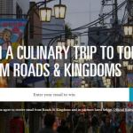 Roads and Kingdoms Tokyo Sweepstakes – Win A Culinary Trip to Tokyo