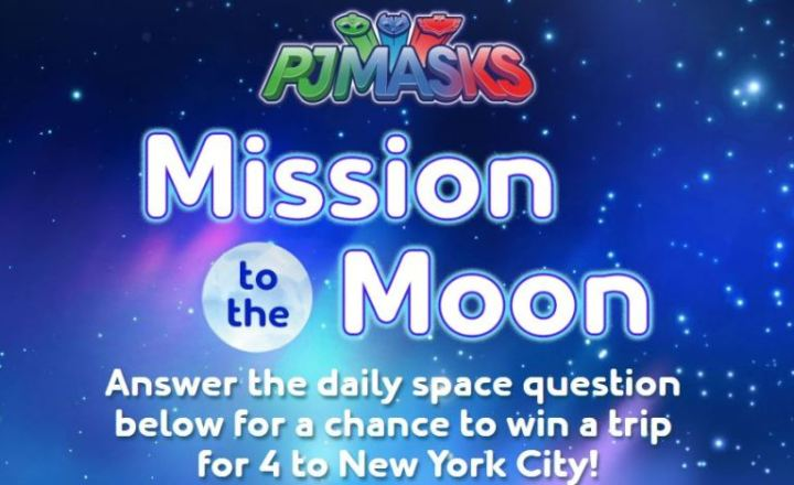 Scholastic PJMasks Mission to the Moon Sweepstakes - Win A Trip