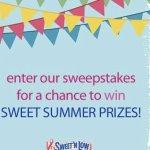 Sweet N Low Summer of Sweet Calorie Savings Sweepstakes – Win Prizes