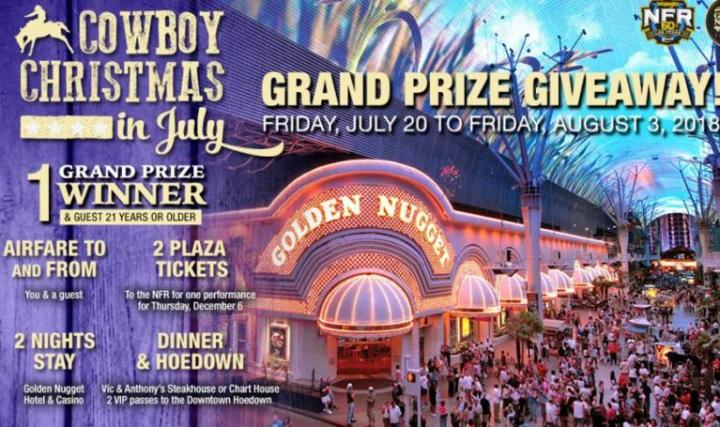 The Cowboy Christmas In July Sweepstakes