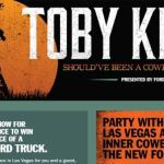 Toby Keith Should've Been A Cowboy Sweepstakes – Win A 2019 Ford Truck and A Trip to Las Vegas