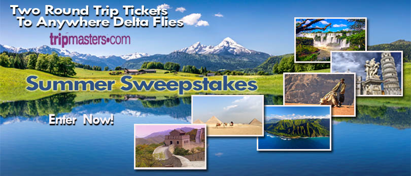 Tripmasters 2018 Summer Sweepstakes