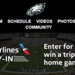 American Airlines Fan Fly In Sweepstakes – Win A Trip to Philadelphia Eagles Home Game