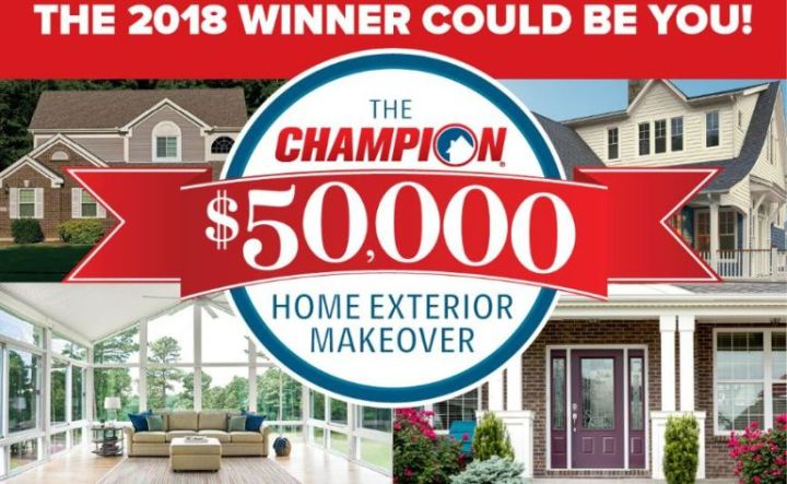 Champion Windows and Home Exteriors Giveaway