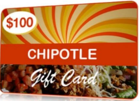 Chipotle Gift Card Giveaway