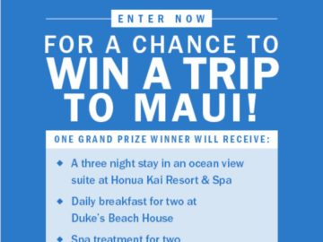 New York Post Page Six Escape to Maui Sweepstakes