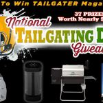 Tailgater Magazine National Tailgating Day Giveaway – Win A Tailgatnig Prize Package
