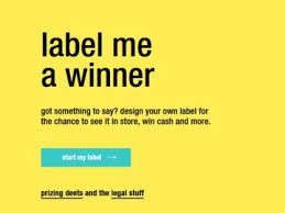 VitaminWater Label Me A Winner Contest