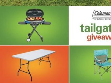 Coleman Tailgating Giveaway