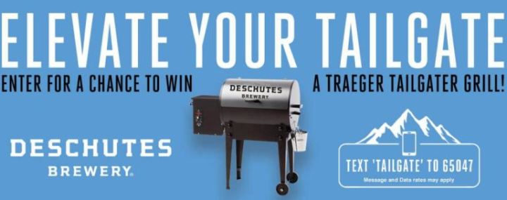 Deschutes Brewery Tailgate Sweepstakes
