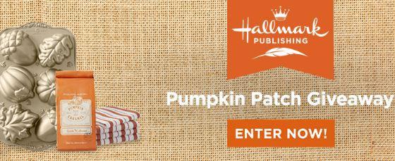 Hallmark Publishing Pumpkin Patch Giveaway
