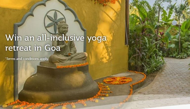 Qatar Airways Goa Yoga Retreat Sweepstakes