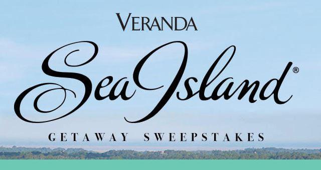 Veranda Sea Island Getaway Sweepstakes