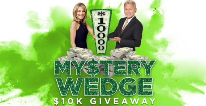 Wheel of Fortune My$tery Wedge $10K Giveaway III Sweepstakes