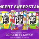 Gummi FunMix Concert Sweepstakes – Win Trip