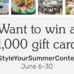 Pier 1 Style Your Summer Photo Contest – Win A Gift Card