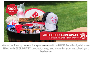 Beer Nuts Fourth of July Basket Giveaway | Contests Hub