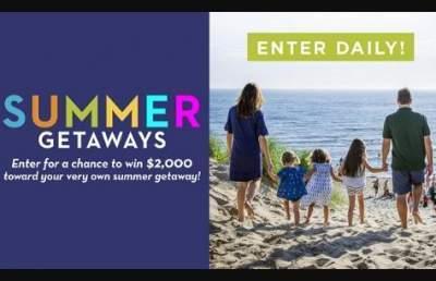Midwest Living Summer Getaways Sweepstakes