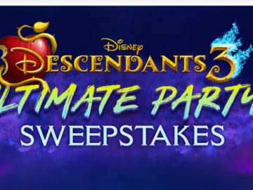 Disney Descendants Sweepstakes - Win Party Pack