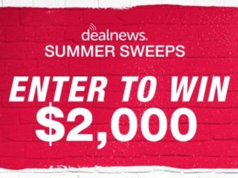 DealNews Summer Sweepstakes Sponsored by Dell - Win Cash Prize