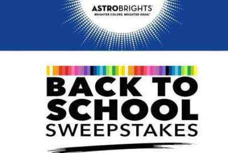 Astrobrights Back to School Sweepstakes - Win Cash